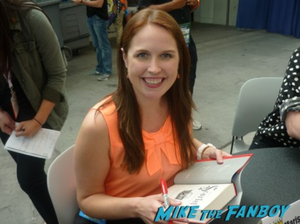 Marissa Meyer san diego comic con sdcc 2013 author rare promo book signing