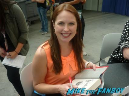 Marissa Meyer san diego comic con sdcc 2013 author rare promo book signing