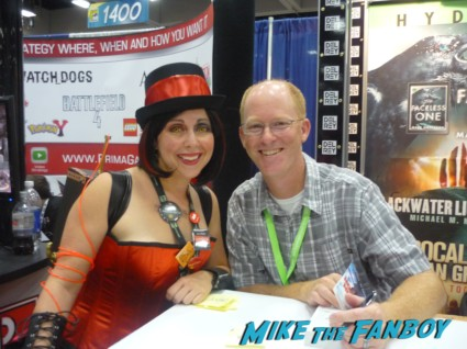 Jason M. Hough san diego comic con sdcc 2013 author rare promo book signing