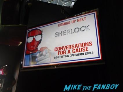Mark Gatiss, Steven Moffat and Sue Vertue sherlock panel san diego comic con sdcc 2013