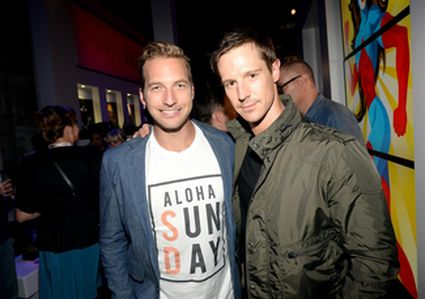 Ryan Hansen and Jason Dohring Jason Dohring attends the after party for Veronica Mars at The Samsung Galaxy Experience on July 19, 2013 in San Diego, California.