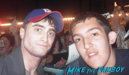 daniel radcliffe fan photo signing autographs daniel radcliffe signing autographs for fans rare m The Cripple Of Inishmaan