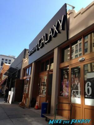 Samsung Galaxy store in san diego gaslamp veronica mars movie party rare