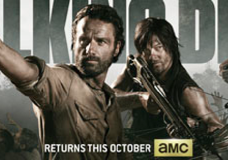 The Walking Dead SDCC 2013 promo poster San diego Comic Con rare