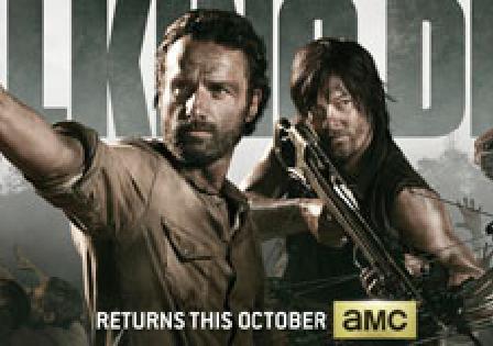 The Walking Dead SDCC 2013 promo poster San diego Comic Con rare
