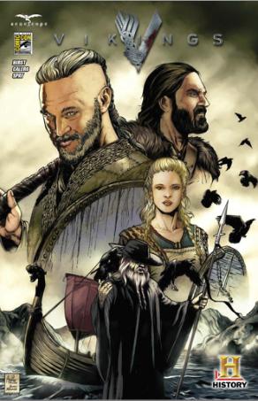 Vikings rare sdcc 2013 promo comic book hot rare travis fimmel