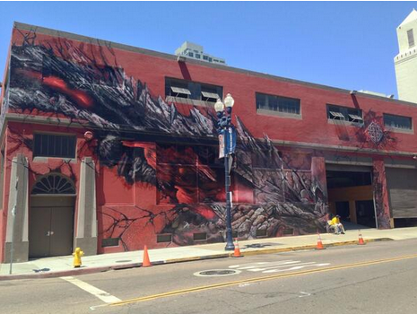 Legendary Pictures Godzilla offsite event san diego comic con 2013
