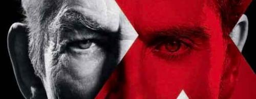 X-men days of future past poster logo ian mckellen michael fassbender rare promo
