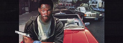 beverly hills cop movie poster promo logo hot rare eddie murphy promo poster