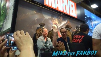 Marvel's Agents of S.H.I.E.L.D. Autograph Signing at SDCC comic con rare joss whedon clark gregg