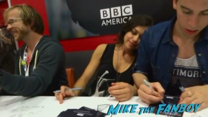 Tatiana Maslany sdcc bbc america orphan black signing rare