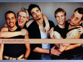 backstreet boys press photo rare group band photo promo