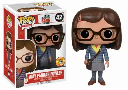 Pop Funko big bang theory Amy Farrah Fowler figure sdcc 2013 san diego comic con