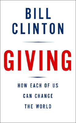 bill clinton giving book cover dust jacket rare