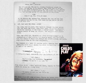 Childs Play Alex Vincent Script