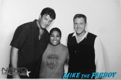 nathan fillion alan tudyk fan photo smiles for smiles photo booth rare