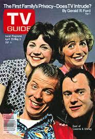 laverne and shirely tv guide magazine cover rare promo michael mckean cindy williams