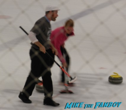 mackenzie astin at hollywood curling in valencia with kristy swanson wil wheaton tracey gold