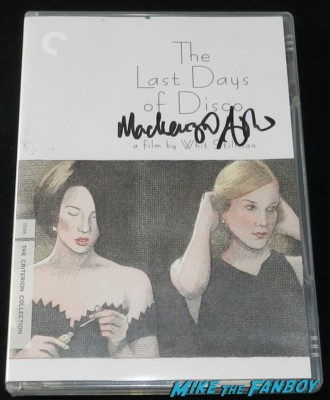 mackenzie astin signed last days of disco dvd cover rare kristy swanson signing autographs for fans buffy the vampire sla 060