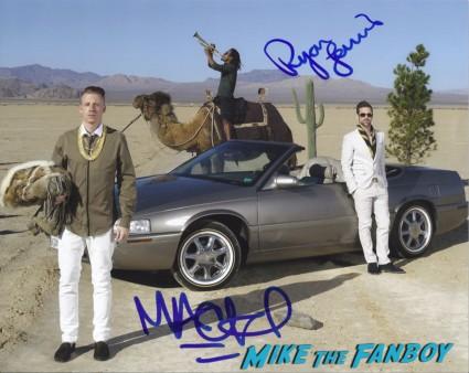 macklemore signed autograph photo rare promo