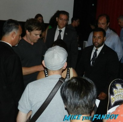 Michael C Hall signing autographs for fans dexter podcast meeting michael c hall dexter podcast wrap up 031