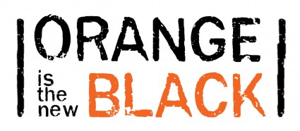 Orange is the new black logo rare Orange is the new black key art rare promo poster taylor Schilling