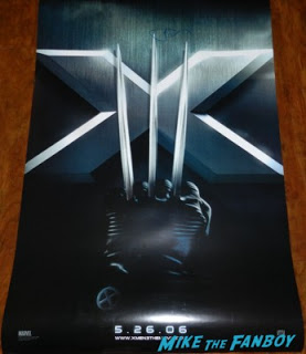 hugh jackman signed autograph wolverine movie poster