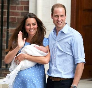 The royal baby prince william rare