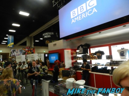 bbc america booth at san diego comic con 2013 signing autographs day 1 074