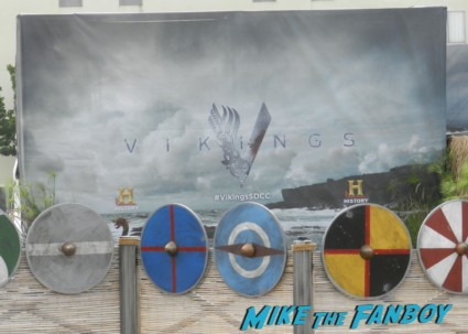 Vikings Cast Autograph Signing At The SDCC Waterway Experience! With Travis Fimmel! Katheryn Winnick! George Blagden! Gustaf Skarsgard! Clive Standen! Jessalyn Gilsig! And More! san diego comic con 2013 signing autographs day 1 104