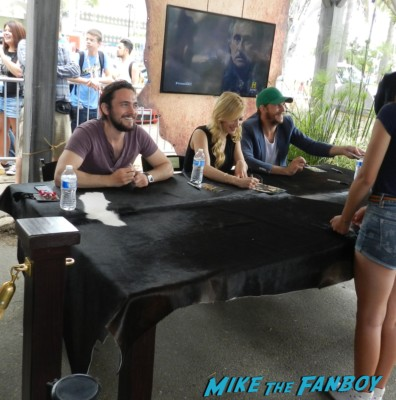 gustaf skarsgard signing autographs for fans at the vikings waterway Vikings cast group photo sdcc comic con Vikings Cast Autograph Signing At The SDCC Waterway Experience! With Travis Fimmel! Katheryn Winnick! George Blagden! Gustaf Skarsgard! Clive Standen! Jessalyn Gilsig! And More! san diego comic con 2013 signing autographs day 1 104