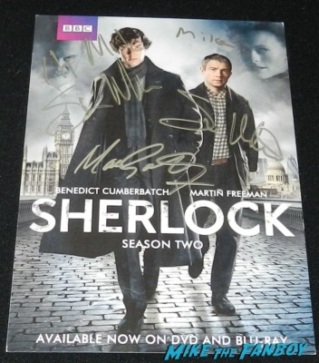 sherlock signed autograph poster san diego comic con 2013 signing autographs day 1 241