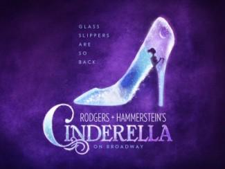 Harriet Harris cinderella promo poster one sheet rare glass slipper