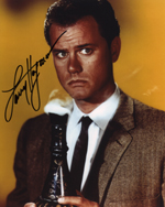 Larry Hagman signed autograph photo rare promo hot Richard Kiel jaws in james bond signed autograph photo rare promo signature rare autograph