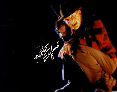 Robert Englund signed autograph freddy photo promo hot classic nightmare on elm street