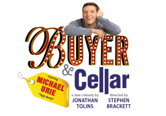 Buyer and Cellar logo michael urie rare broadway play poster logo
