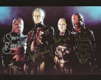 Doug Bradley cast signed cenobite photo hellraiser rare