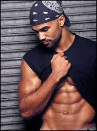 Shemar Moore shirtless naked abs muscle flex photo rare hot and sexy photo rare promo