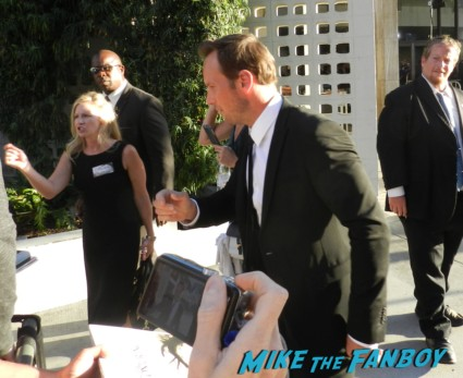 patrick wilson signing autographs for fans at the conjuring premiere lili taylor signing autographs vera farmi 044