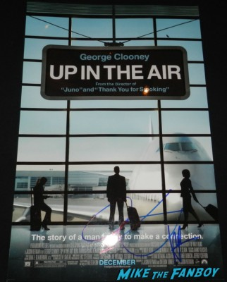vera farmiga anna kendrick signed autograph up in the air mini movie poster rare promo