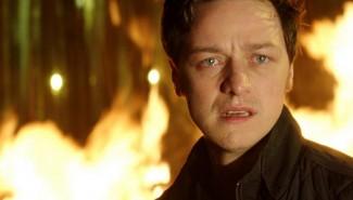 Danny Boyle's Trance promo still james McAvoy hot rare  Rosario Dawson