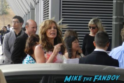 Allison Janney signing autographs for fans way way back premiere toni collette signing autographs rare 006