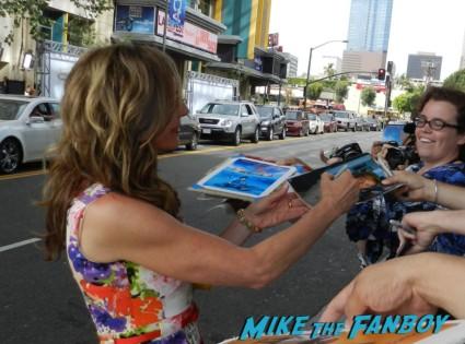 allison Janney signing autographs for fans at the way way back premiere toni collette signing autographs rare 024