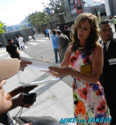 allison Janney signing autographs for fans at the way way back premiere toni collette signing autographs rare 024