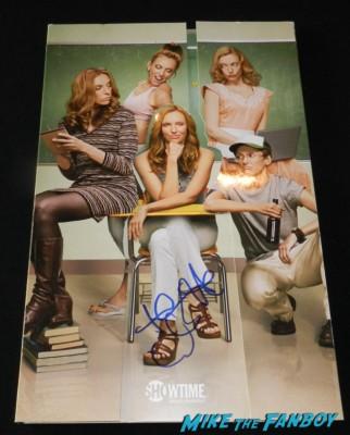 toni collette signed autograph The United States of Tara presskit promo mini movie poster rare promo