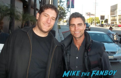Colin Egglesfield signing autographs for fans something borrowed star rare promo hot sexy