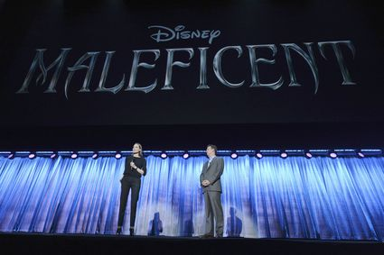 """ANGELINA JOLIE D23 EXPO - LET THE ADVENTURES BEGIN: LIVE ACTION AT THE WALT DISNEY STUDIOS - Anaheim, California (August 10, 2013) - The Walt Disney Studios showcases the Studios' exciting live-action release slate, including Disney's """"Saving Mr. Banks"""" and """"Tomorrowland,"""" """"Marvel's Thor: The Dark World,"""" and much more. (D23 EXPO/Todd Wawrychuk) ANGELINA JOLIE"""