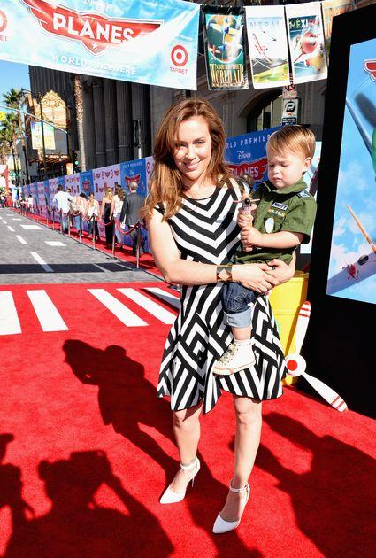 "alyssa milano World Premiere Of ""Disney's Planes"" - Red Carpet"