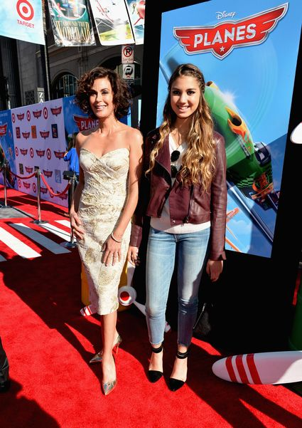 """teri hatcher on the red carpet at the World Premiere Of """"Disney's Planes"""" - Red Carpet"""
