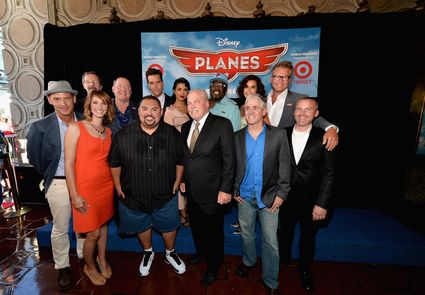 """the cast of planes at the World Premiere Of """"Disney's Planes"""" - Red Carpet"""